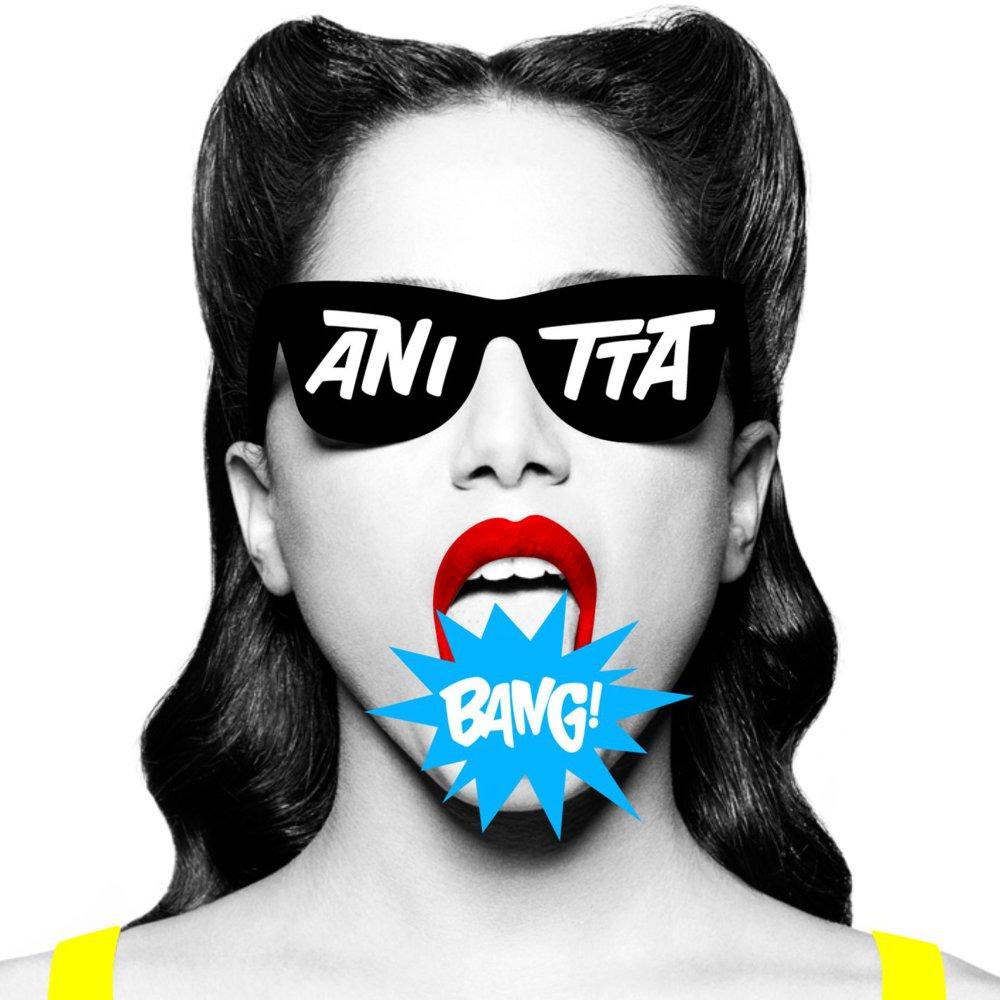 """Capa do terceiro álbum de Anitta, """"Bang"""""""