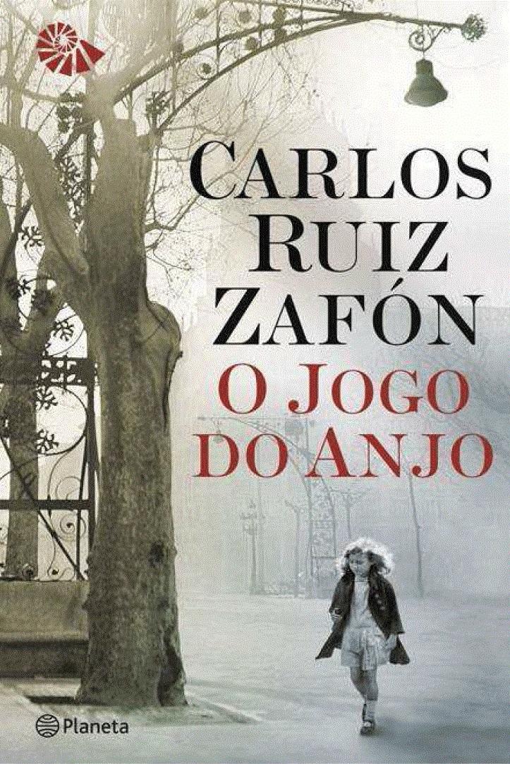 """Capa do livro """"O Jogo do Anjo"""", segundo volume da série literária """"Cemitério dos Livros"""""""