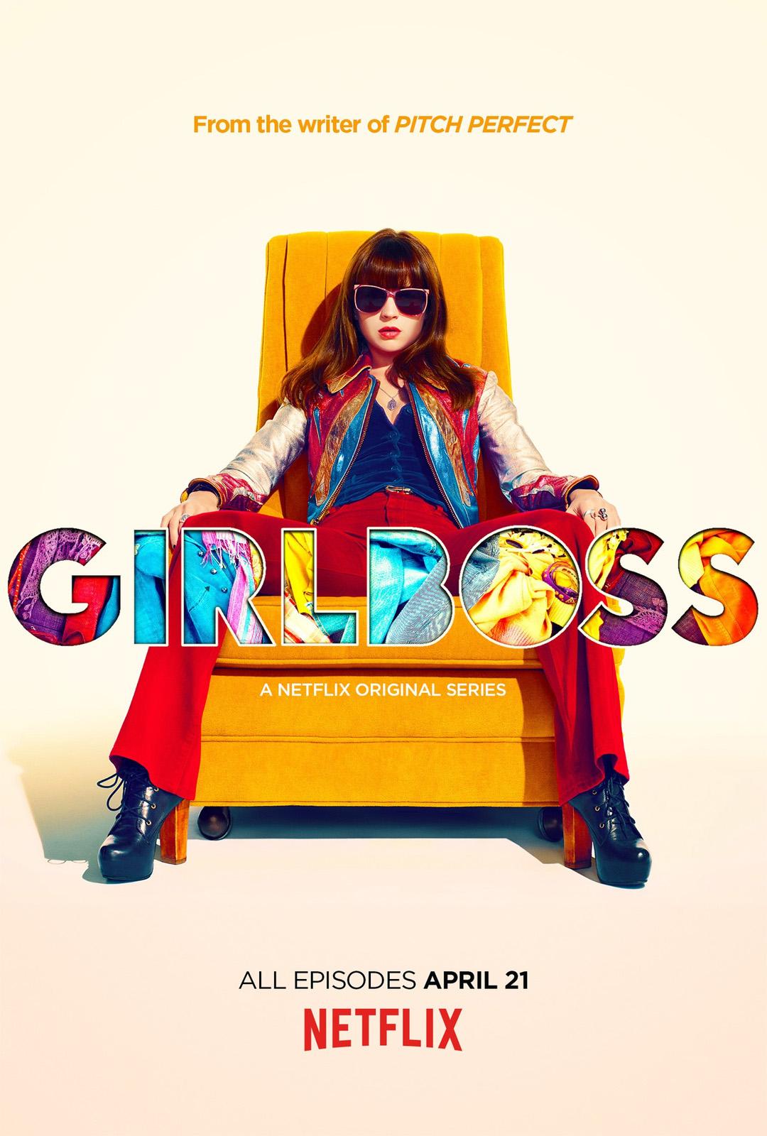 """Pôster de """"Girlboss"""""""