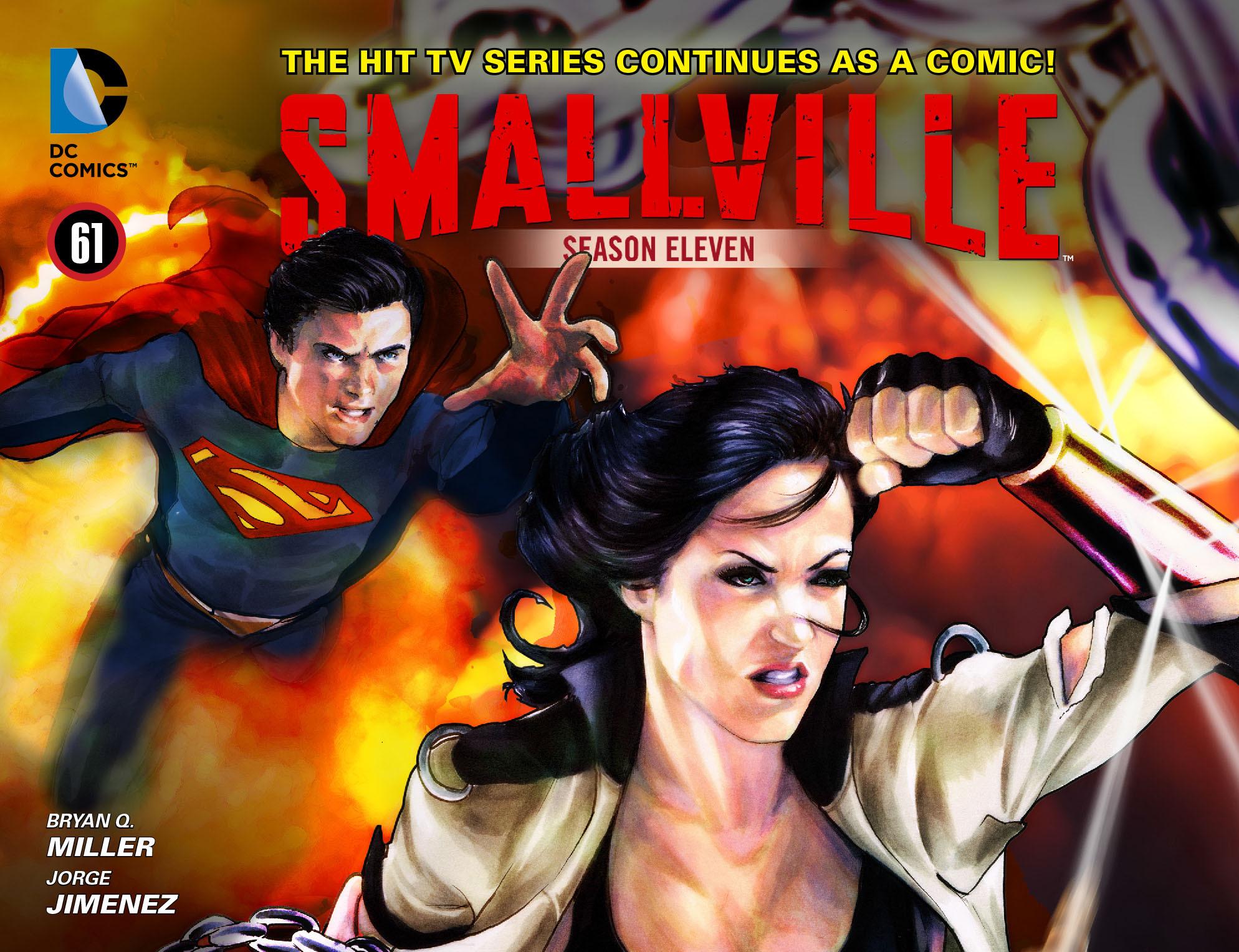 """Ainda que nunca tenha aparecido na série, uma versão de Diana foi vista nos quadrinhos de """"Smallville"""", iniciados após o final da décima e última temporada"""
