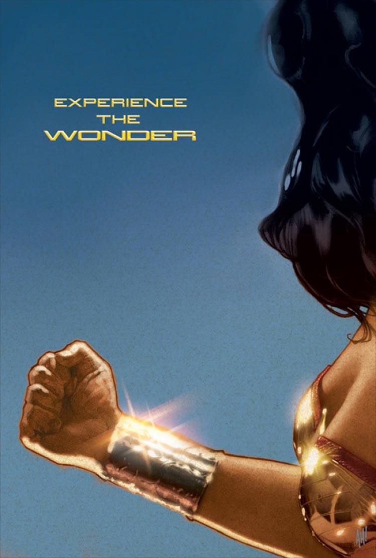 Pôster fanmade do filme de Whedon, baseado em um rascunho do filme feito a mão