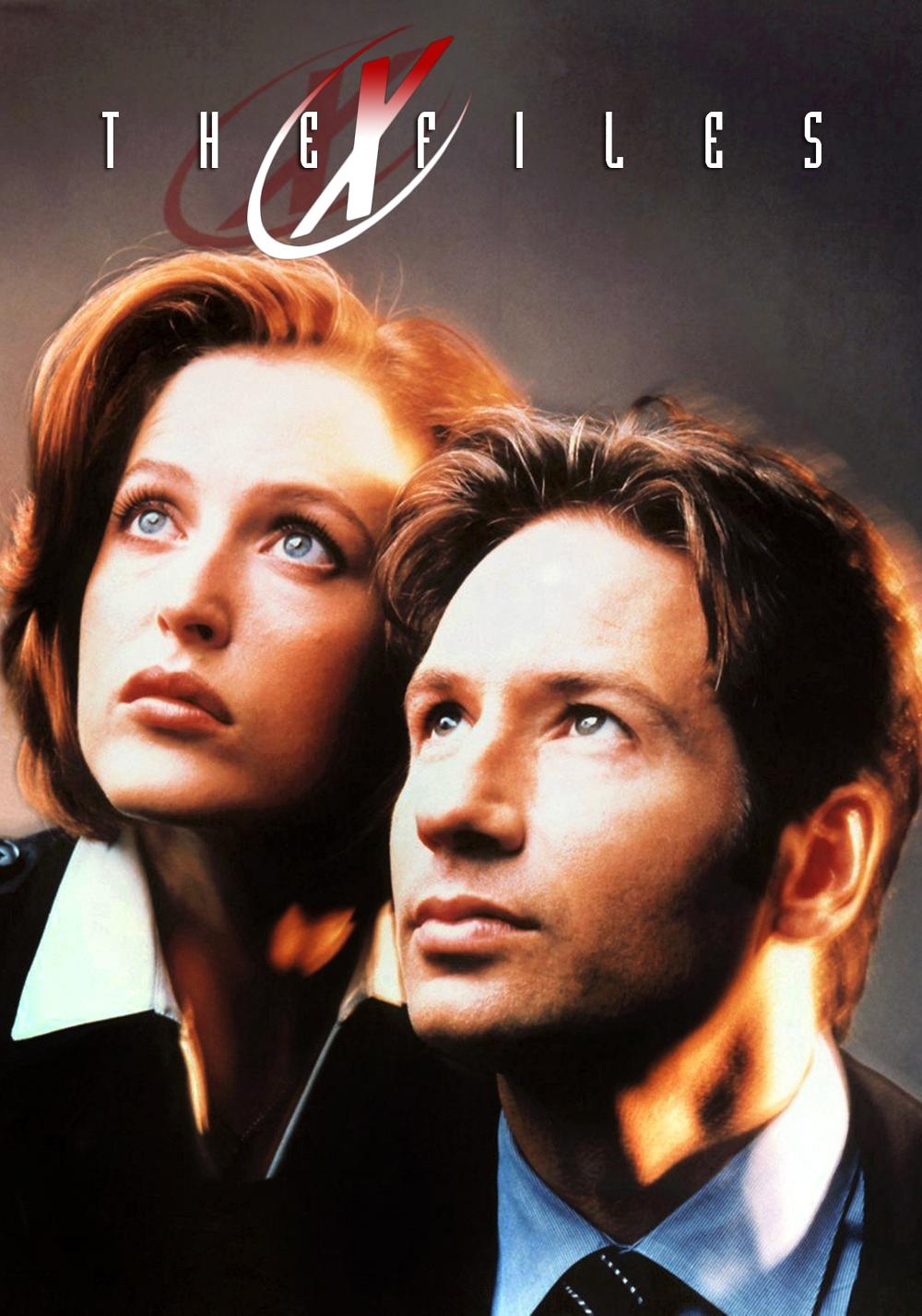 """Pôster de """"The X Files"""", ou """"Arquivo X"""" no Brasil"""