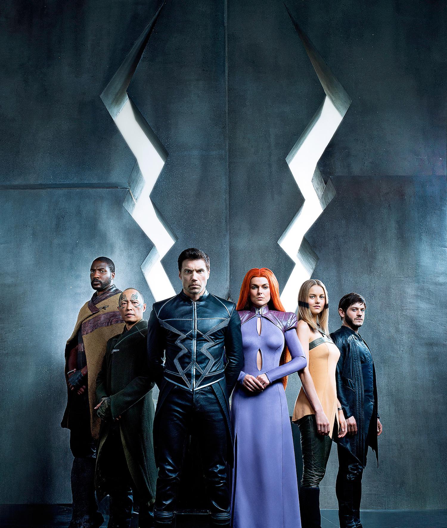 """Contemplem Os """"Inumanos"""": A Estreia Da Série Da Marvel Em IMAX"""