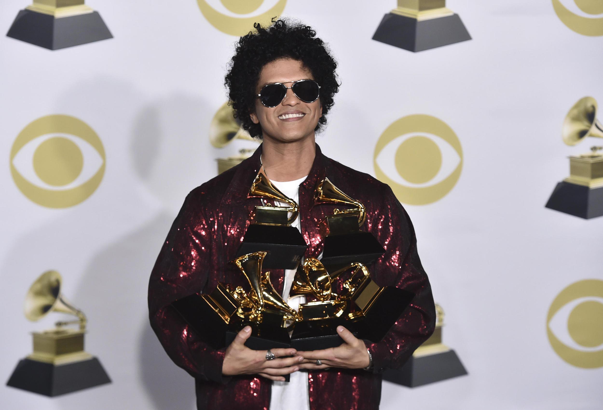 O Hexa De Bruno Mars