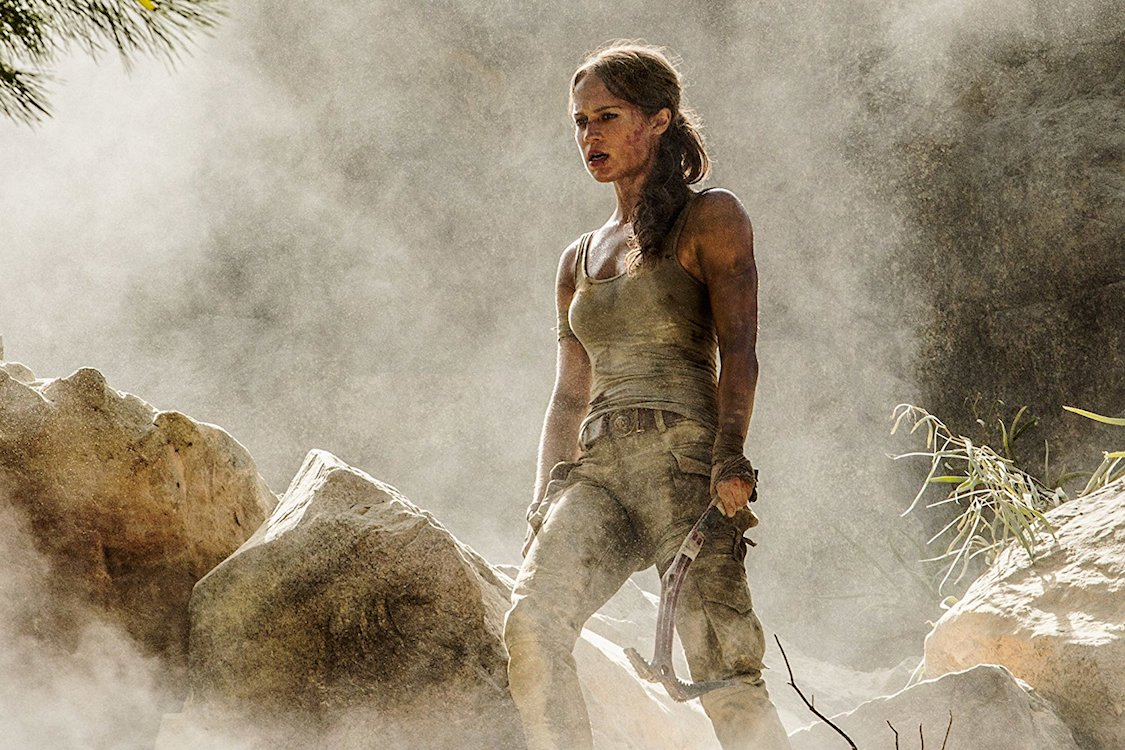A Volta De Lara Croft Ao Cinema